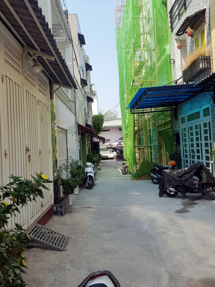 Bán nhà 1/ Nguyễn Thị Sáu , đường xe hơi 5m, diện tích 50m2