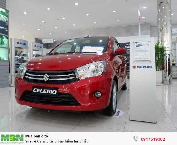 Suzuki Celerio tặng bảo hiểm hai chiều