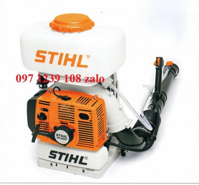 Máy phun thuốc chống dịch Stihl SR 5600, chạy xăng, thuận tiện, ngừa dịch hiệu quả2