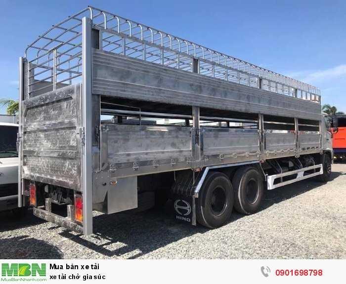 Xe tải chở gia súc 1