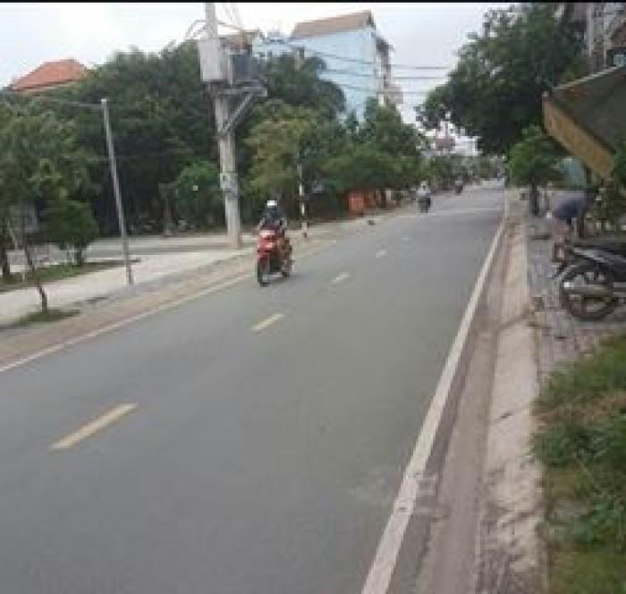 Bán 100m2 đất thổ cư mặt tiền  Đổ Văn Dậy Hóc Môn.