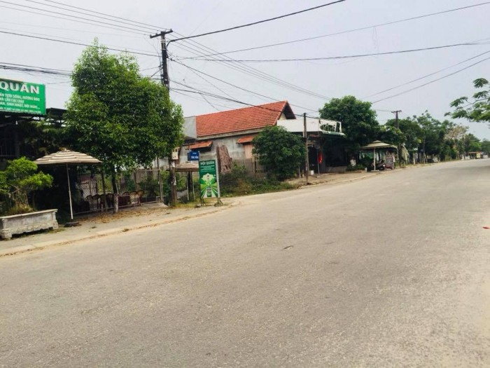 Bán đất mặt tiền đường Sóng Hồng - trung tâm Phú Bài, cách chợ Phú Bài 100m
