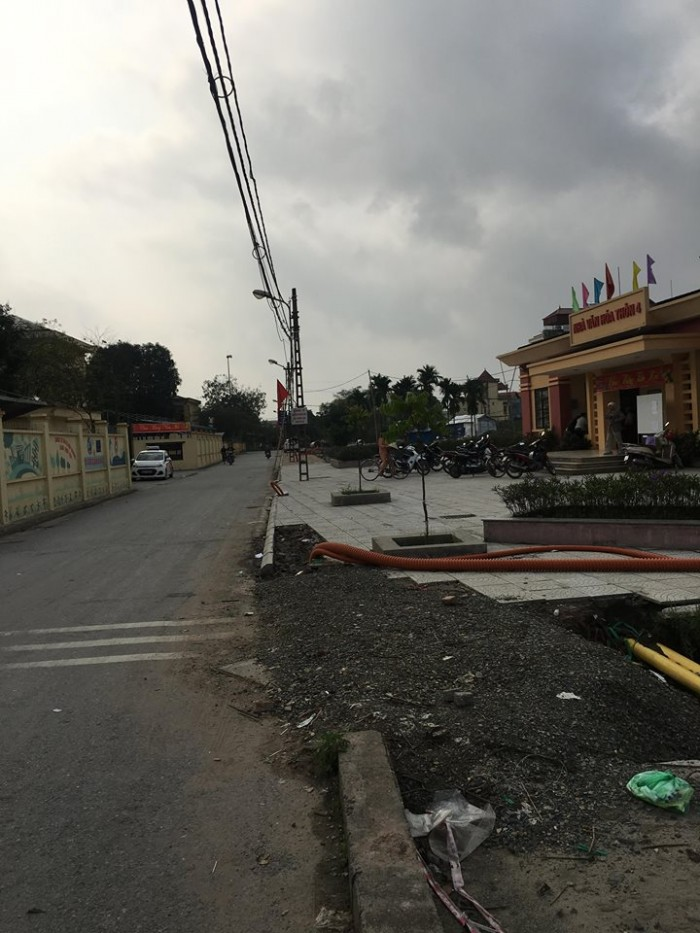 Bán đất cạnh trung tâm xã Đông Dư, Gia Lâm ô tô đậu cửa.