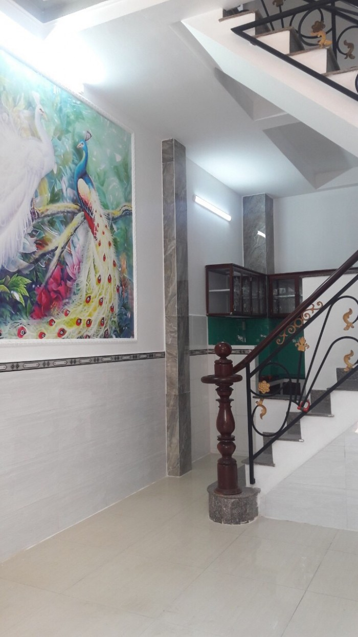 Cần Bán Nhà 1 sẹc Miếu Gò Xoài ( 4x8m ) 2 Lầu