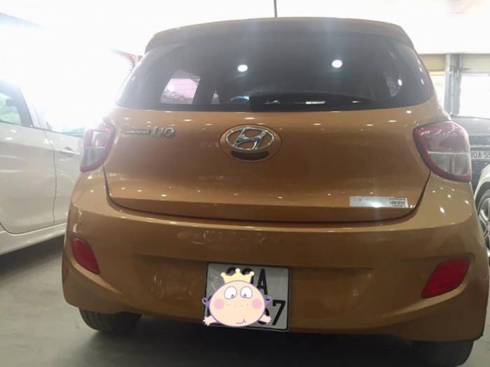 HyunDai i10 nhập khẩu sx 2015 số tự động, tư nhân chính chủ xe đẹp.