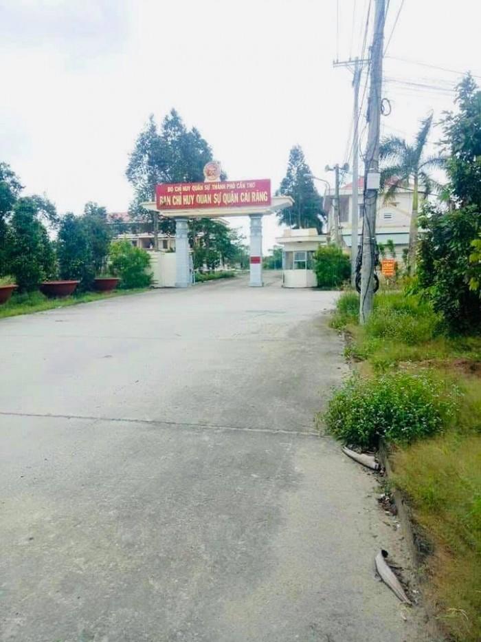 Bán nền trục chính khu dân cư quân đội cái răng thông ra đường Nguyễn Thị Trâm