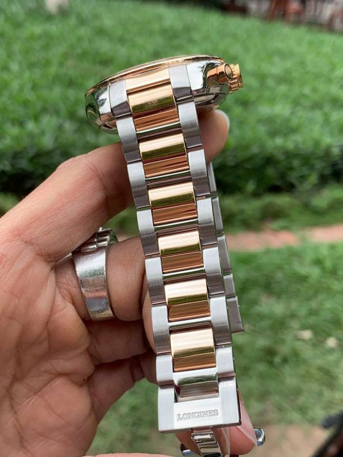 Đồng hồ nam Longines Chronograph 18k gold