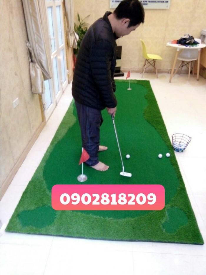Cho thuê thảm golf tổ chức sự kiện kèm gậy và bóng0