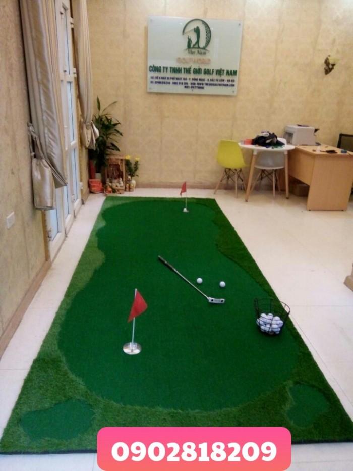 Cho thuê thảm golf tổ chức sự kiện kèm gậy và bóng2