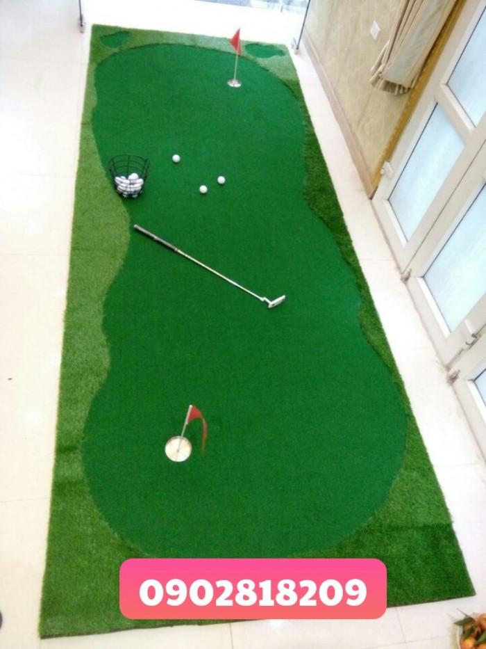 Cho thuê thảm golf tổ chức sự kiện kèm gậy và bóng1