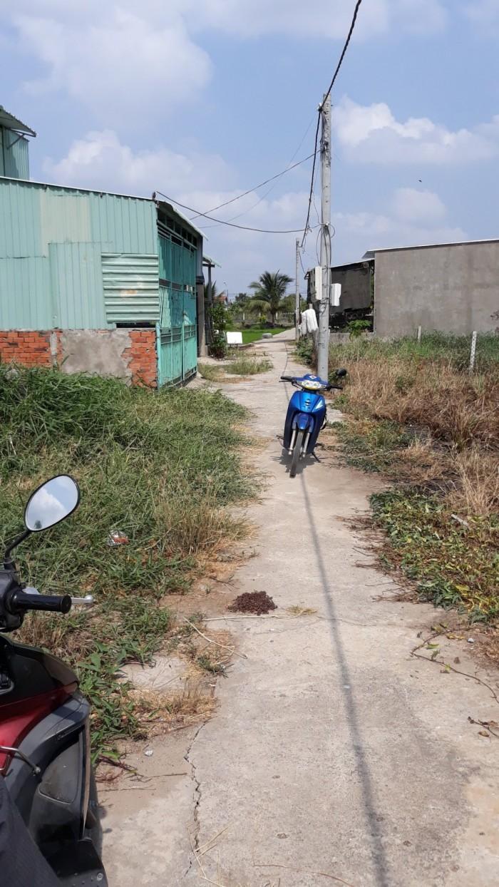 Bán đất nền ấp Lộc Hậu ,xã Mỹ Lộc ,huyện Cần Giuộc ,tỉnh Long An