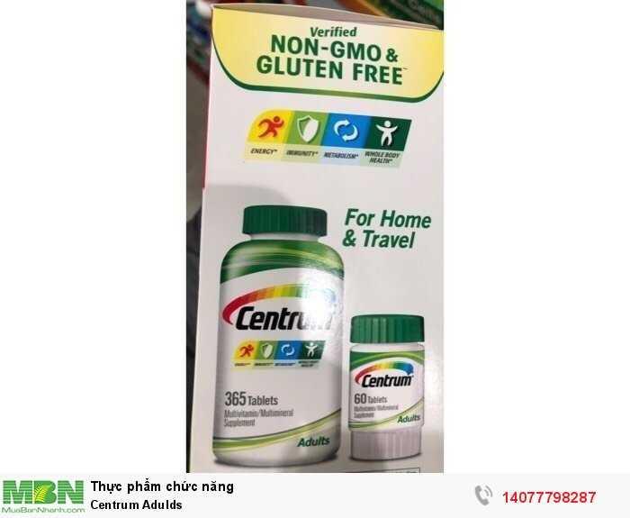Viên uống Vitamin tổng hợp - Centrum Adults Vitamin0