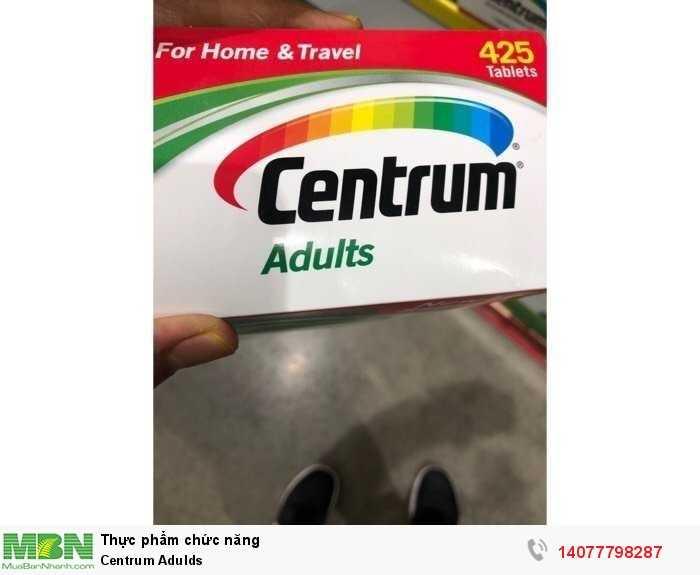 Centrum Adults Vitamin tổng hợp cho người dưới 50 tuổi, 425 viên3
