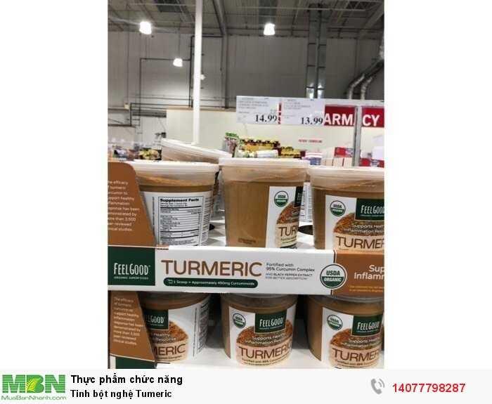 Tinh chất bột nghệ hữu cơ Organic Feel Good USDA0
