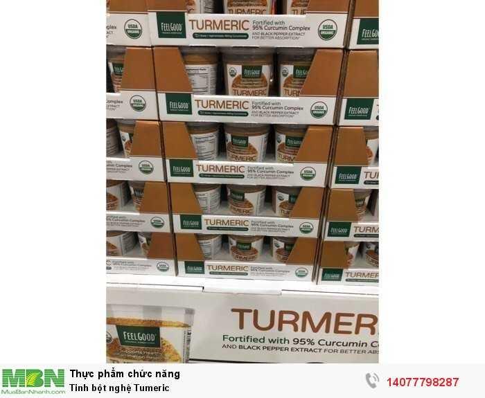 Tinh chất bột nghệ hữu cơ Feel Good USDA Organic Turmeric Powder1