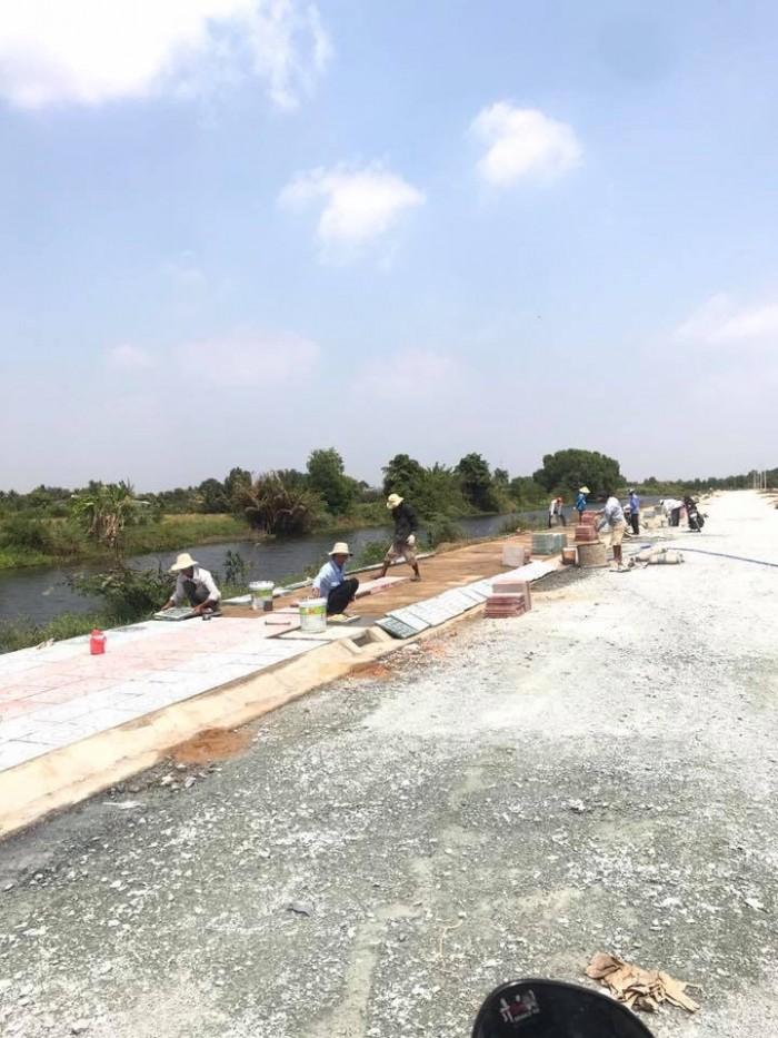 Chỉ 350tr/ sở hữu ngay một nền đẹp ngay KCN Cầu Tràm,  đất thổ cư 100%