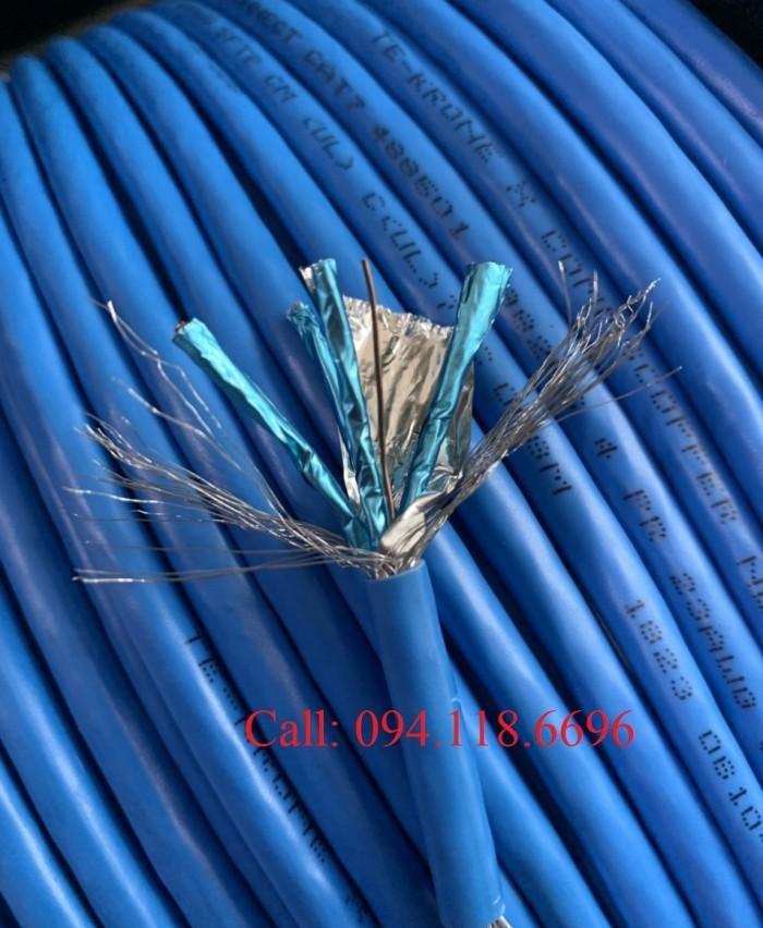 Dây cáp mạng Cat7 SSTP bọc bạc chống nhiễu0