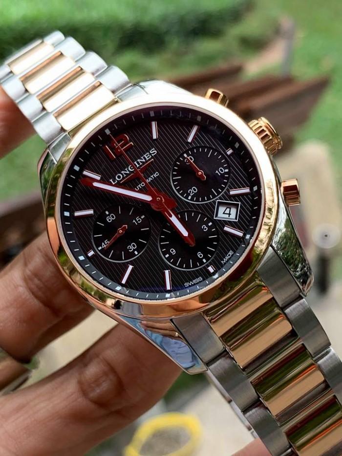 Đồng hồ Longines nam 18k gold