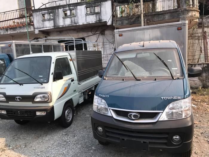 Xe tải Thaco Towner 990, hỗ trợ trả góp ngân hàng 0