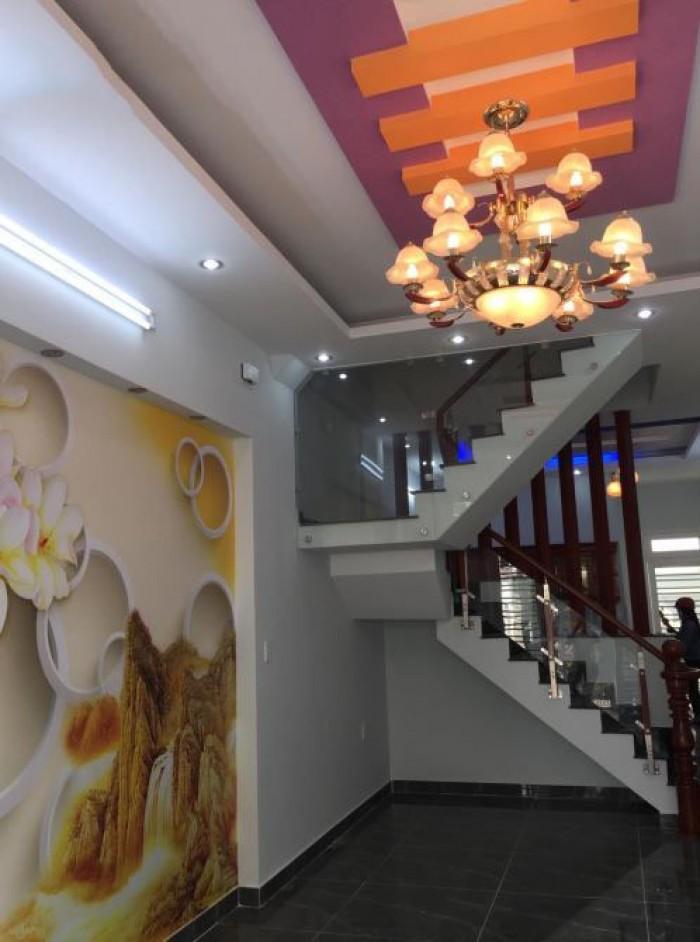 Nhà đúc 3,5 tấm mt kinh doanh hẻm 7m, sơn kỳ