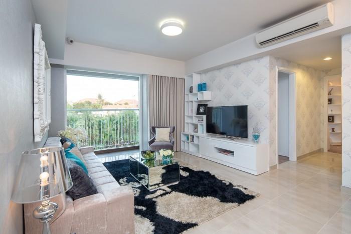 Bán căn hộ Krista Q2 2PN, full nội thất giá 2.4 tỷ view sông tầng cao.