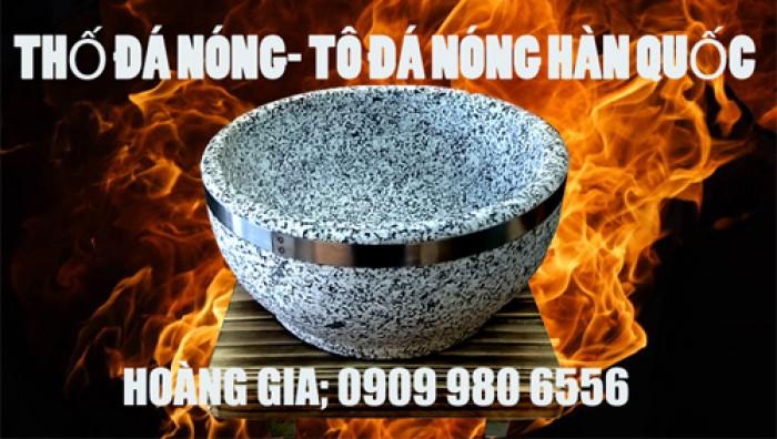 Cung cấp tô đá- thố đá nóng Hàn Quốc 18cm làm cơm trộn bimbimbap Hàn Quốc và phở tô đá nóng Việt Nam.3