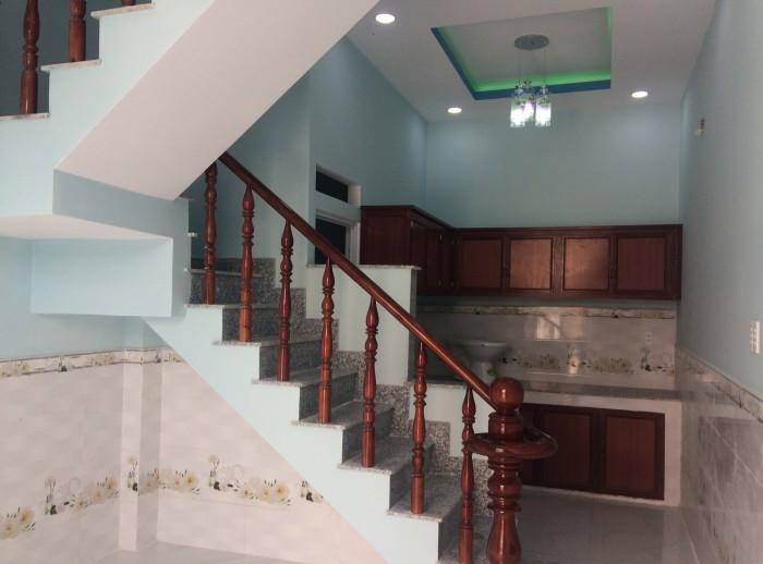 Nhà mới xây Nguyễn Thị Thử 3,6x12m 1 lầu 2 pn đường 6m