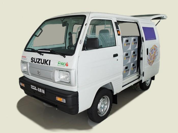 Suzuki Van 490kg, Chạy giờ cấm tải, 10/4 Tăng 6% 4