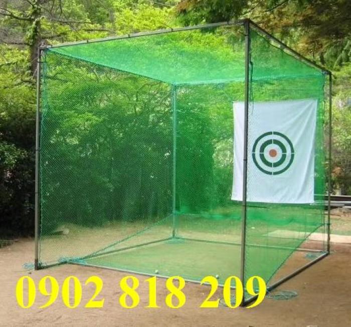 Lưới chắn bóng golf mắt lưới 2.5cm5