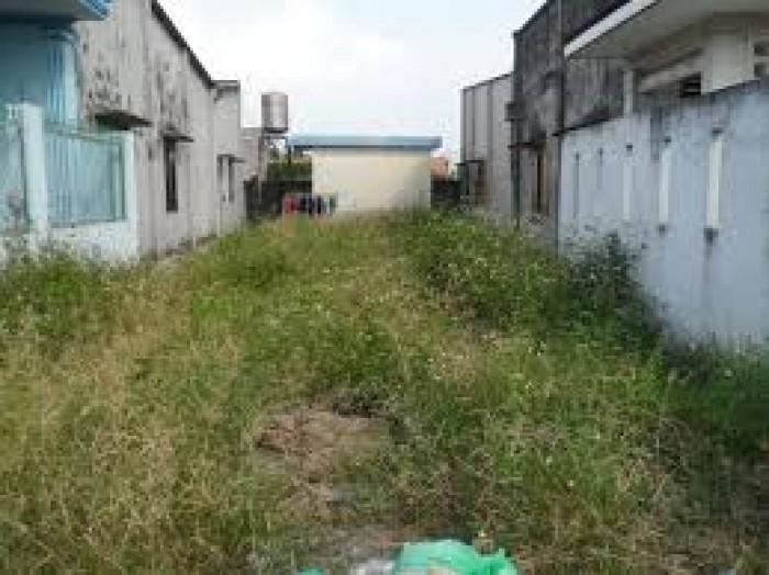 Bán đất 268m2-Ngang 12m Mặt tiền đường Lê Thị Riêng Q12. Giá chỉ 1,2 tỷ