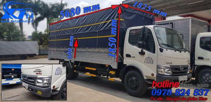 Xe Tải Hino Dutro 3T5 Thùng 5m7 nhập khẩu nguyên chiếc. 3