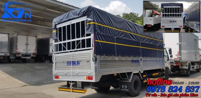 Xe Tải Hino Dutro 3T5 Thùng 5m7 nhập khẩu nguyên chiếc. 0