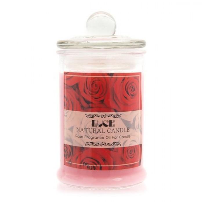 Nến thơm hoa hồng tặng miếng dán chắn sóng - Con Ong (Jar Candles Rose)3