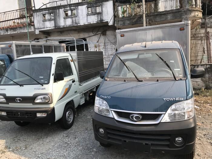 Xe tải nhẹ Thaco Towner 850kg, hỗ trợ trả góp ngân hàng