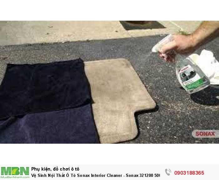 Vệ Sinh Nội Thất Ô Tô Sonax Interior Cleaner - Sonax 321200 500ml