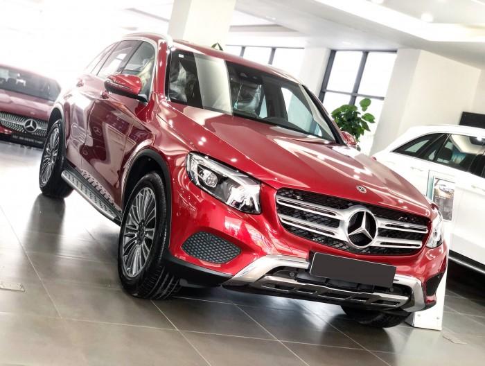 Mercedes GLC250 2019 màu Đỏ Siêu lướt chính chủ giá tốt