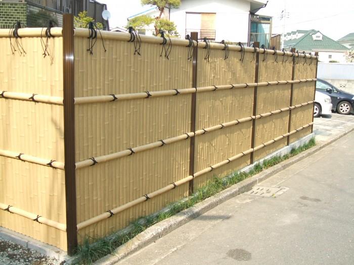 thi công hàng rào tre trúc - Thân Thiện Phát0