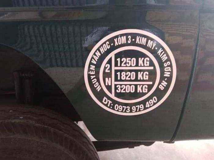 Xen Ben hãng Hoa Mai, tải trọng 1,25 tấn, quãng đường đã chạy dưới 2500Km, khá mới