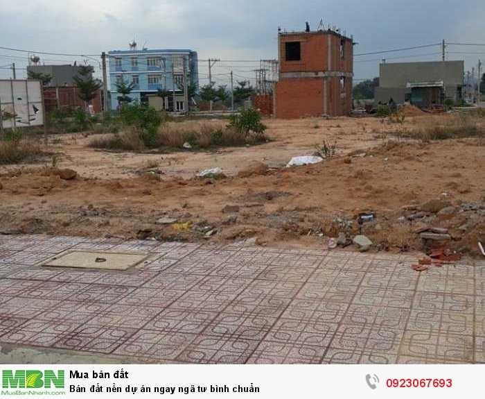 Bán đất nền dự án ngay ngã tư Bình Chuẩn
