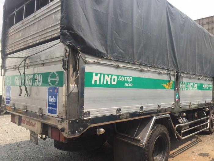 Hino Dutro 5 tấn thùng nhôm sx 2015 đã qua sử dụng 5