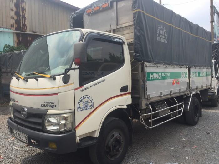 Hino Dutro 5 tấn thùng nhôm sx 2015 đã qua sử dụng