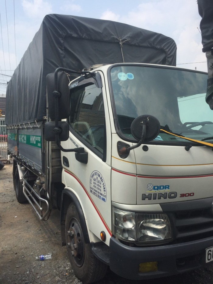 Hino Dutro 5 tấn thùng nhôm sx 2015 đã qua sử dụng 1