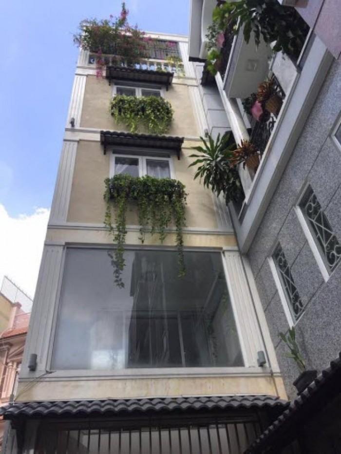 Bán nhà đường Bạch Đằng, quận Tân Bình 95.5m2, ngang 4.9m, 1 trệt 2 lầu, 5.1 tỷ