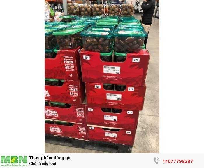 Chà là sấy khô California Organic Medjool Dates 907g - Chà là Medjool tại siêu thị Mỹ1