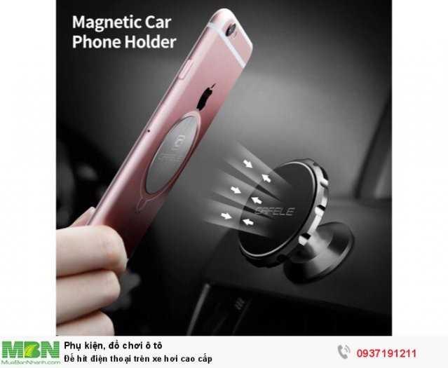 Đế hít điện thoại trên xe hơi cao cấp 0