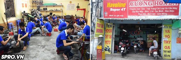 Combo bộ đồ nghề sửa xe máy cơ bản