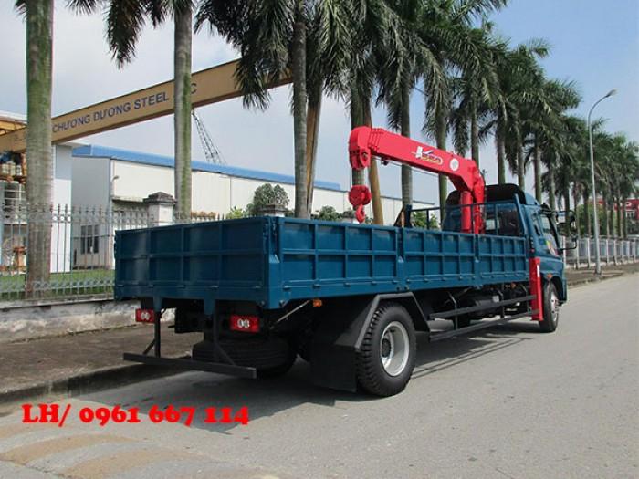 Xe tải 9.5 tấn Thaco OLLIN 950A gắn cẩu 5 tấn UNIC model URV555 ( 5 tấn 5 đốt ) giá khuyến mại khủng 2