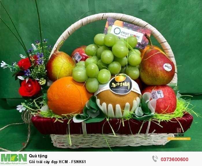 Giỏ trái cây đẹp HCM giao tận nơi0