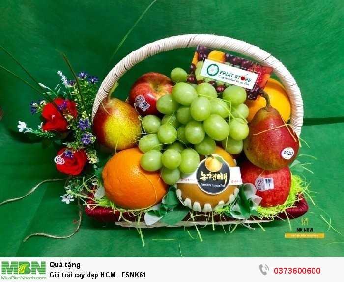 Đặt online Giỏ trái cây đẹp HCM - FSNK612