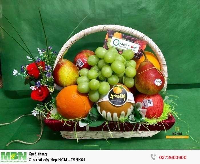 Giỏ trái cây đẹp HCM - FSNK614